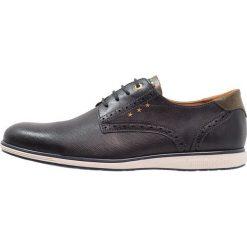 Pantofola d`Oro SANGRO UOMO LOW Sznurowane obuwie sportowe dress blues. Niebieskie buty sportowe męskie Pantofola d`Oro, z materiału, na sznurówki. Za 459,00 zł.