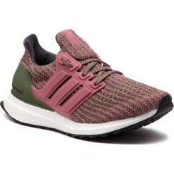Buty adidas - UltraBoost W BB6495 Tramar/Tramar/Basgrn. Czerwone buty do biegania damskie marki Adidas, z materiału. W wyprzedaży za 519,00 zł.