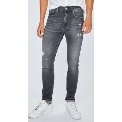 Calvin Klein Jeans - Jeansy 016. Szare jeansy męskie skinny Calvin Klein Jeans. Za 539,90 zł.