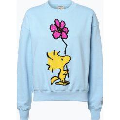 Bluzy rozpinane damskie: Essentiel Antwerp - Damska bluza nierozpinana, niebieski