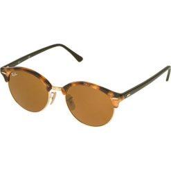 RayBan CLUBROUND Okulary przeciwsłoneczne brown/light brown. Brązowe okulary przeciwsłoneczne damskie aviatory Ray-Ban. Za 599,00 zł.