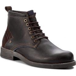 Kozaki WRANGLER - Cliff Mid WM172030 Tdm 108. Brązowe buty zimowe męskie Wrangler, z materiału. W wyprzedaży za 299,00 zł.