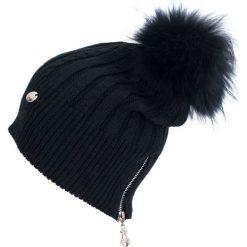 Czapka damska Fashion fur czarna. Czarne czapki zimowe damskie Art of Polo. Za 78,80 zł.