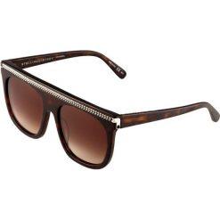 Stella McCartney Okulary przeciwsłoneczne avana/brown. Brązowe okulary przeciwsłoneczne damskie aviatory Stella McCartney. W wyprzedaży za 1016,95 zł.