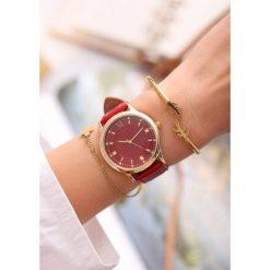 Czerwony Zegarek Day-to-day. Czerwone zegarki damskie other. Za 29,99 zł.