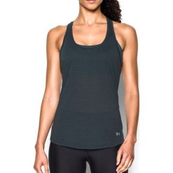 Topy sportowe damskie: Under Armour Koszulka damska Streaker Under Armour Stealth Gray/Black roz. XS (1271522008)