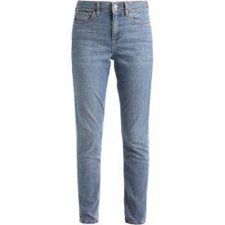 Topshop CAIN   Jeansy Slim Fit blue. Niebieskie jeansy damskie marki Topshop. W wyprzedaży za 149,40 zł.