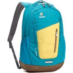 Plecak DEUTER - Stepout 16 3810315-8304-0  Neon-Petrol 8304. Niebieskie plecaki męskie Deuter, z materiału, sportowe. W wyprzedaży za 219,00 zł.