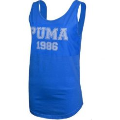 Topy sportowe damskie: Puma Koszulka damska Style Per Best Athl Tank niebieska r. M (836394 31)