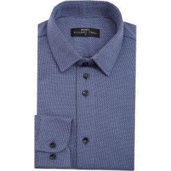 Koszula SIMONE1D KDNS000079. Białe koszule męskie na spinki marki Giacomo Conti, m, z bawełny, z klasycznym kołnierzykiem. Za 199,00 zł.