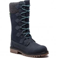 Śniegowce KAMIK - Takoda WK4027 Ink Blue. Niebieskie buty zimowe damskie Kamik, z materiału. Za 379,00 zł.