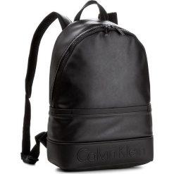 Plecak CALVIN KLEIN BLACK LABEL - Bennet Backpack K50K503297 001. Czarne plecaki damskie marki Calvin Klein Black Label, z materiału. W wyprzedaży za 399,00 zł.