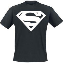 T-shirty męskie z nadrukiem: Superman Logo T-Shirt czarny