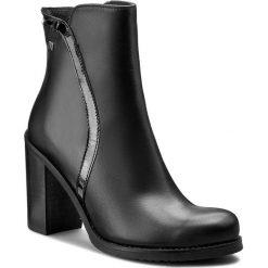 Botki MACCIONI - 422.101411.1381 Czarny. Czarne buty zimowe damskie Maccioni, z polaru, na obcasie. W wyprzedaży za 269,00 zł.