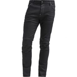 GStar 5620 3D SLIM Jeansy Slim Fit black pintt stretch denim. Czarne jeansy męskie relaxed fit marki G-Star. Za 659,00 zł.