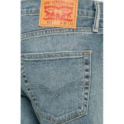 Levi's - Jeansy 511. Brązowe jeansy męskie slim marki Levi's®. W wyprzedaży za 279,90 zł.