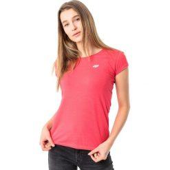 4f Koszulka damska H4L18-TSD002 czerwona r. M. Czerwone topy sportowe damskie marki 4f, l. Za 28,90 zł.