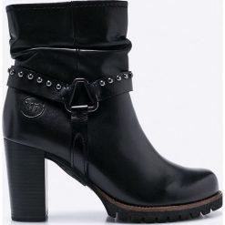 Marco Tozzi - Botki. Czarne buty zimowe damskie marki Mohito, na obcasie. W wyprzedaży za 219,90 zł.