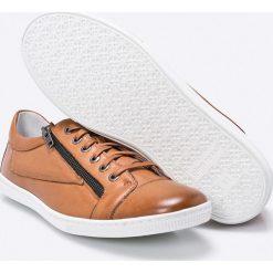 Gino Rossi - Buty. Szare buty sportowe męskie marki Gino Rossi, z materiału, ze sznurowanym dekoltem. W wyprzedaży za 269,90 zł.