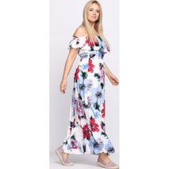 Sukienki: Biało-Niebieska Sukienka Entrance