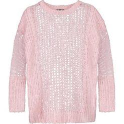 Swetry klasyczne damskie: Topshop LADDER  Sweter lightpink