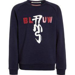 Scotch Shrunk BLAUW CREWNECK Bluza navy. Niebieskie bluzy chłopięce marki Scotch Shrunk, z bawełny. W wyprzedaży za 188,10 zł.