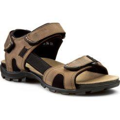 Sandały WOJAS - 5303-94 Beż. Brązowe sandały męskie skórzane Wojas. Za 279,00 zł.