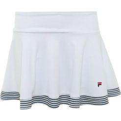 Fila SKORT SALLY KIDS Spódnica sportowa white. Białe spódniczki dziewczęce Fila, z materiału. Za 149,00 zł.