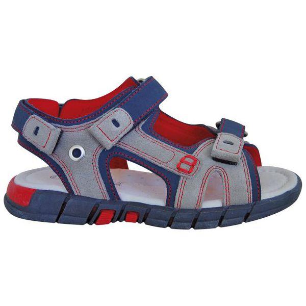 D D step sandały chłopięce 27 szare