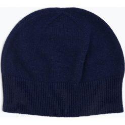 Apriori - Damska czapka z czystego kaszmiru, niebieski. Niebieskie czapki damskie marki Apriori, l. Za 179,95 zł.