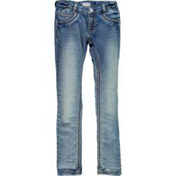 Mek - Jeansy dziecięce 128-170 cm. Niebieskie jeansy dziewczęce Mek, z bawełny, z obniżonym stanem. W wyprzedaży za 119,90 zł.