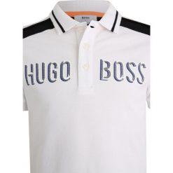 Bluzki dziewczęce bawełniane: BOSS Kidswear MIT KURZEN ÄRMELN TRIKOT Koszulka polo weiß