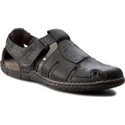 Sandały męskie skórzane: Sandały JOSEF SEIBEL – Paul 15 43215 768 100 Schwarz