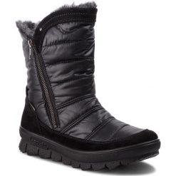 Śniegowce LEGERO - GORE-TEX 3-00932-02 Schwarz Kombi. Czarne buty zimowe damskie marki Camper, z gore-texu. Za 549,00 zł.