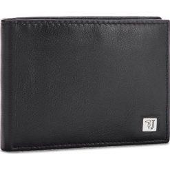 Duży Portfel Męski TRUSSARDI JEANS - Wallet Credit Card Coin Pocket Smooth 71W00004 K299. Czarne portfele męskie marki Trussardi Jeans, z jeansu. W wyprzedaży za 239,00 zł.