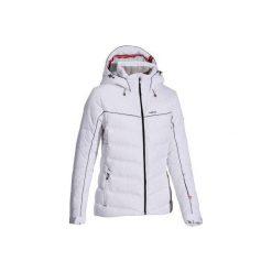 Kurtka Slide 500 WARM. Białe kurtki damskie puchowe marki WED'ZE, xs, z puchu. W wyprzedaży za 279,99 zł.