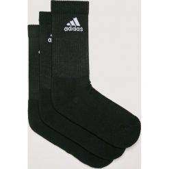 Adidas Performance - Skarpetki (3-pack). Czarne skarpetki damskie marki adidas Performance, z bawełny. Za 49,90 zł.
