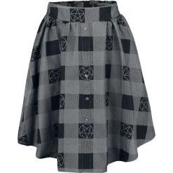Supernatural Pentagramm Spódnica czarny/szary. Czarne spódniczki Supernatural, xs, midi. Za 164,90 zł.