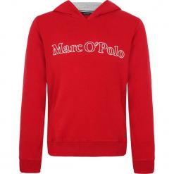 Bluza w kolorze czerwonym. Białe bluzy dziewczęce z nadrukiem marki Marc O'Polo Junior, z okrągłym kołnierzem, z długim rękawem. W wyprzedaży za 105,95 zł.
