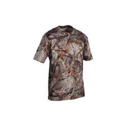 Koszulka kr. ręk. Actikam 100. Niebieskie t-shirty męskie marki ARTENGO, m, z elastanu. Za 39,99 zł.
