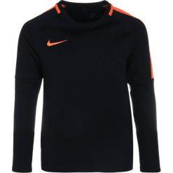 Nike Performance DRY CREW Bluza black/cone/cone. Czarne bluzy chłopięce marki Nike Performance, l, z materiału, outdoorowe. Za 139,00 zł.