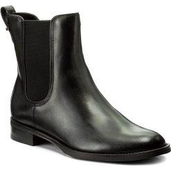 Sztyblety GINO ROSSI - Nevia DSG611-G12-E100-9900-F 99. Czarne buty zimowe damskie marki Gino Rossi, z materiału. W wyprzedaży za 279,00 zł.