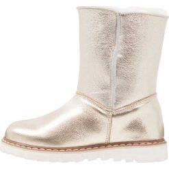 Friboo Śniegowce gold. Czerwone buty zimowe damskie marki Friboo, z materiału. W wyprzedaży za 149,40 zł.