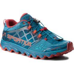 Buty LA SPORTIVA - Helios 2.0 36A614202 Tropic Blue/Tengerine. Niebieskie buty do biegania męskie La Sportiva, z materiału. W wyprzedaży za 459,00 zł.