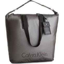 Shopper bag damskie: Torebka CALVIN KLEIN BLACK LABEL – City Nylon Shopper K60K604239  702