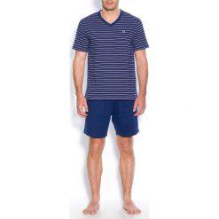 Piżamy męskie: Piżama z krótkimi spodenkami z bawełnianego dżerseju