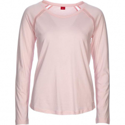 """Koszulka piżamowa """"Flower Dreams"""" w kolorze jasnoróżowym. Białe koszule nocne i halki marki LASCANA, w koronkowe wzory, z koronki. W wyprzedaży za 58,95 zł."""