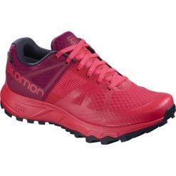 Salomon Buty Damskie Trailster Gtx W Hibiscus/Beet Red/Graphite 39.3. Czerwone buty do biegania damskie Salomon, z gore-texu. Za 479,00 zł.