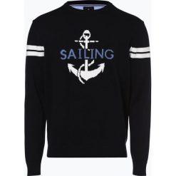 Andrew James Sailing - Sweter męski, niebieski. Niebieskie swetry klasyczne męskie Andrew James Sailing, m, z dzianiny. Za 169,95 zł.