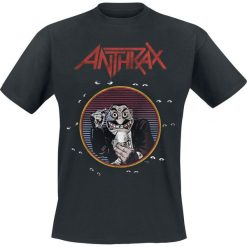 Anthrax Now It's Dark 1989 T-Shirt czarny. Czarne t-shirty męskie Anthrax, l. Za 74,90 zł.